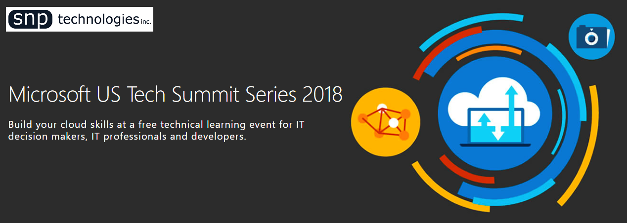Microsoft US Tech Summit 2018