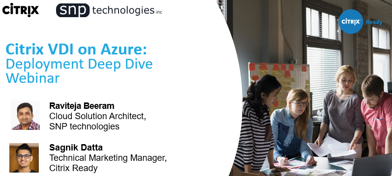 Citrix on Azure Webinar