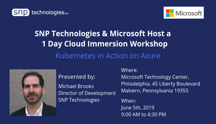 Kubernetes in Action on Azure workshop Pennsylvania