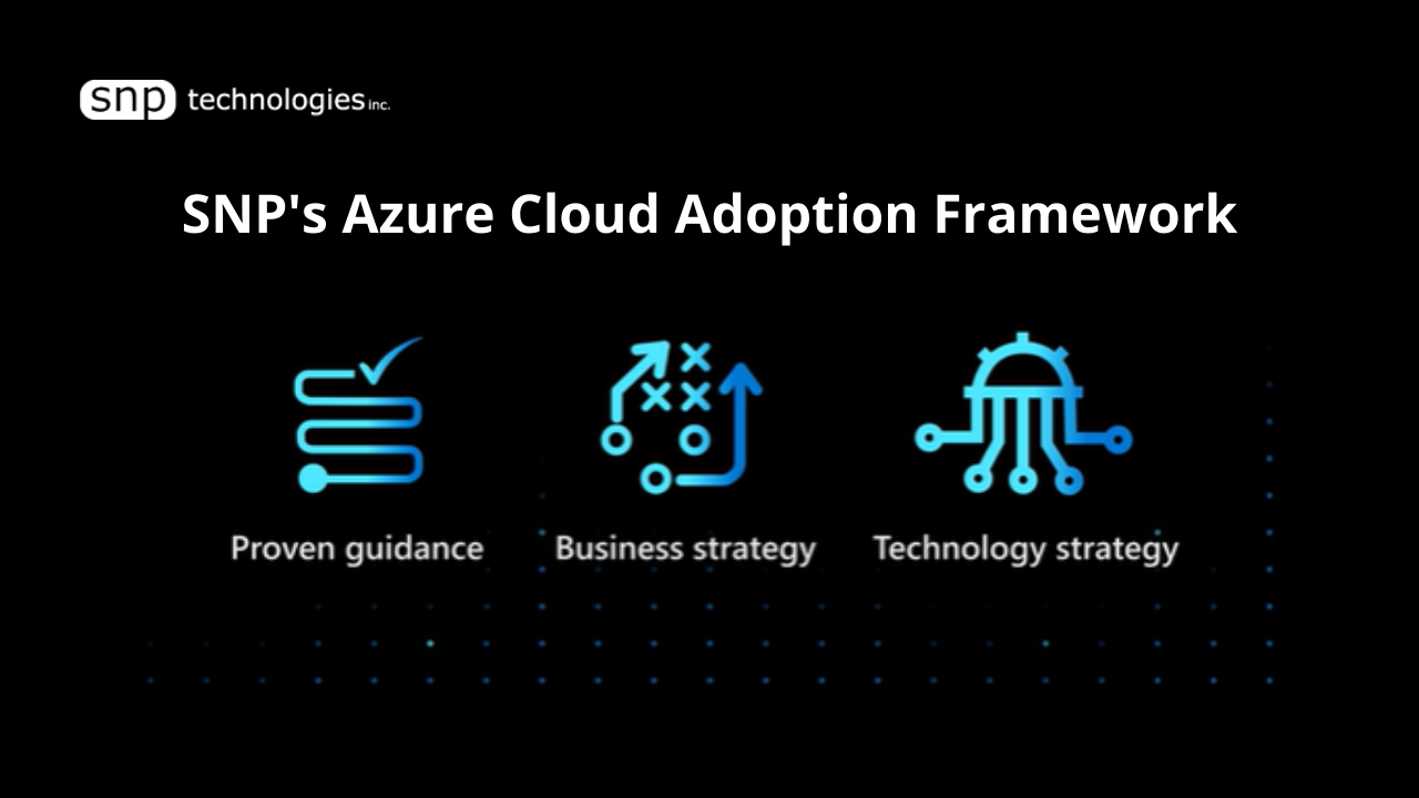 Azure Cloud Adoption Framework