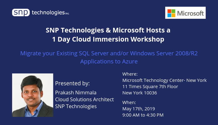 Azure Migration Workshop