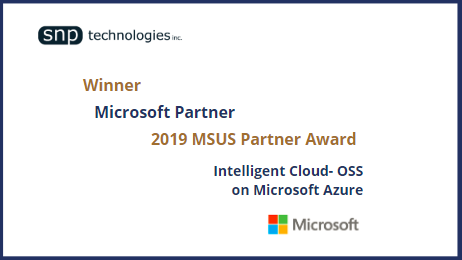 Microsoft 2019 MSUS Partner Award for Intelligent Cloud – OSS on Azure