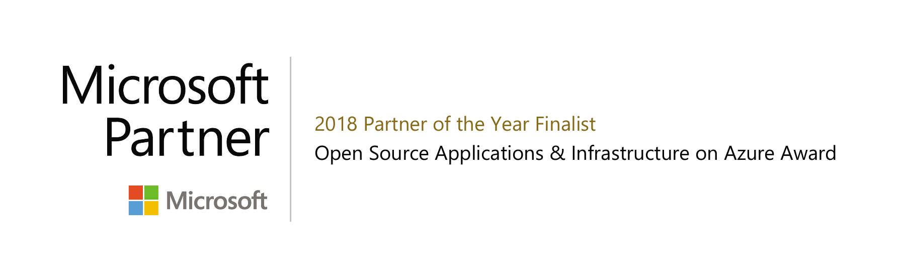 SNP Technologies recognized as a finalist for  Microsoft 2018 Partner of the Year Awards for Open Source Applications & Infrastructure on Azure Award